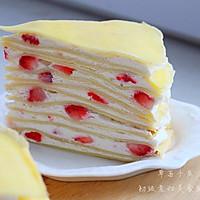 草莓,芒果千层蛋糕的做法图解23