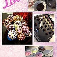 C@ke p0ps 巧克力蛋糕棒棒糖的做法图解6