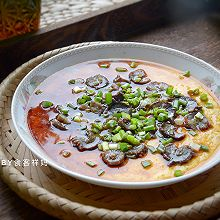 #快手又营养,我家的冬日必备菜品#超级简单的海参蒸蛋