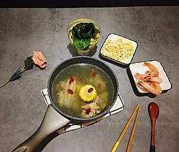 #冬天就要吃火锅#养生沙参骨汤火锅的做法
