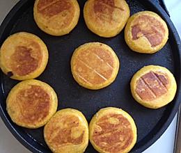 豆沙馅的南瓜饼的做法