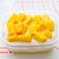 #520,美食撩动TA的心!#芒果盒子蛋糕的做法图解17