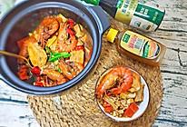 鲜虾豆腐煲#太太乐鲜鸡汁玩转健康快手菜#的做法