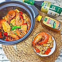 鲜虾豆腐煲#太太乐鲜鸡汁玩转健康快手菜#