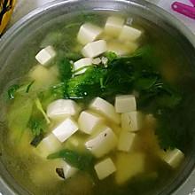 快手减脂青菜豆腐汤