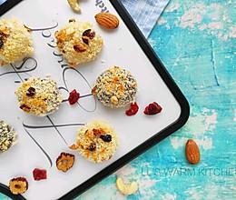 #馅儿料美食,哪种最好吃#坚果烤汤圆的做法