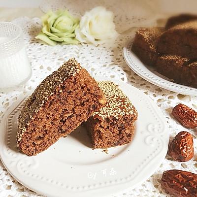 古早味枣糕 桃仁提子中式软嫩蛋糕
