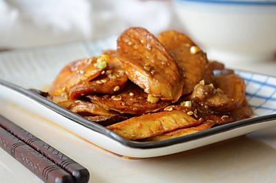 87期【沙茶杏鲍菇】,很有肉感的素菜~