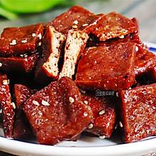 上海特色小吃——蜜汁豆干