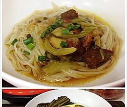 老坛酸菜牛肉面的做法