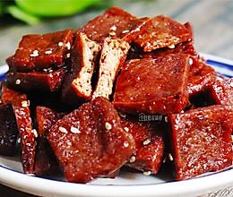 上海特色小吃——蜜汁豆干的做法