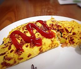 【分分钟正餐】蛋包饭的做法