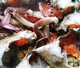 极简花椒海蟹的做法