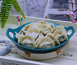 蘑菇韭菜饺子#做道好菜,自我宠爱!#的做法