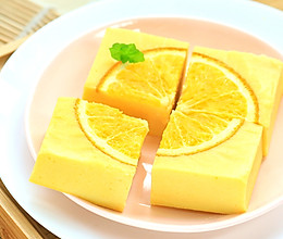 香橙玉米糕的做法