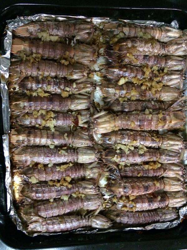 焗攋尿虾的做法