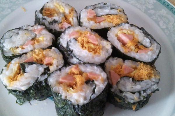 寿司初学者的做法
