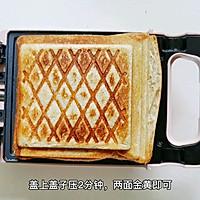 #全电厨王料理挑战赛热力开战!#万物皆可压的早餐机搞定三明治的做法图解7