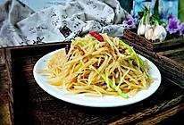 快手家常菜→酸辣土豆丝#快手又营养,我家的冬日必备菜品#的做法