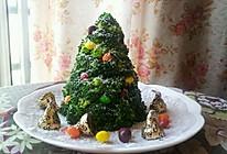 低热量土豆沙拉圣诞树(又是一年圣诞节)的做法