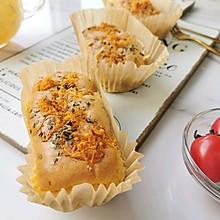 #餐桌上的春日限定#肉松香葱海苔夹心小蛋糕
