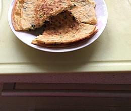 简单好吃的营养早餐饼的做法