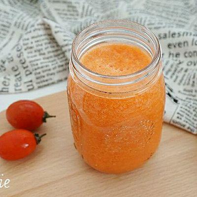 【美容蔬菜汁】西红柿胡萝卜汁