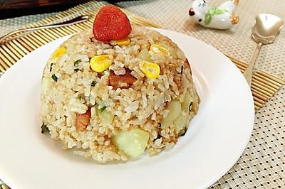 土豆焖饭#美的初心电饭煲#