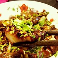 酱香烤茄子(用微波炉的快手菜)