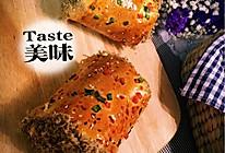 超柔软肉松面包卷(自制肉松)的做法