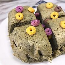 宝宝辅食食谱   紫米山药蒸糕