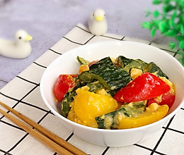 素食主义 咸蛋黄炒黄瓜的做法