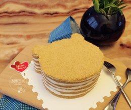 #我们约饭吧#小熊木糠蛋糕的做法