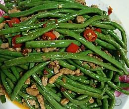 软炒豇豆的做法