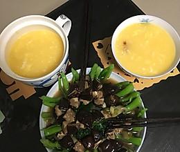 香菇菜心,素食晚餐。的做法