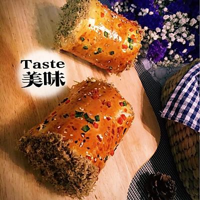 超柔软肉松面包卷(自制肉松)