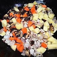 #苏泊尔球釜智能电饭煲#香菇土豆肉丁焖饭的做法图解6