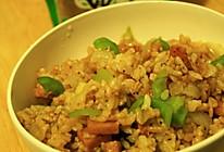 夏季什锦炒饭的做法