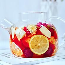 水果热花茶#快手又营养,我家的冬日必备菜品#