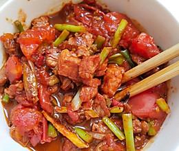 番茄炒肉的做法