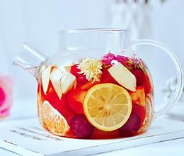 水果热花茶#快手又营养,我家的冬日必备菜品#的做法