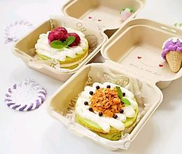 #父亲节,给老爸做道菜#便当盒子蛋糕
