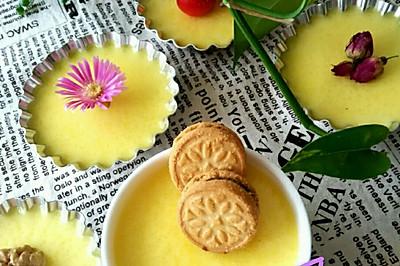 牛奶布丁之西班牙谷优巧克力夹心饼干装饰