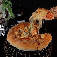 超级至尊芝士披萨的做法图解12