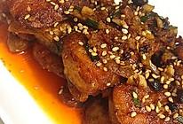 香辣鱼块——煎鱼不碎不粘的小窍门的做法