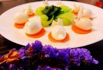 小白兔鹌鹑蛋『营养早餐』的做法