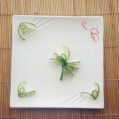 黄瓜小花(黄瓜雕刻花朵)