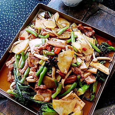 麻辣香锅--烤箱版