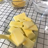低糖版·酥掉渣)玛格丽特曲奇之黑芝麻南瓜酥 宝宝辅食 零食的做法图解2