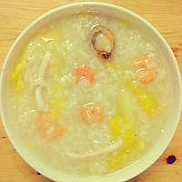 广式清新养生海鲜粥
